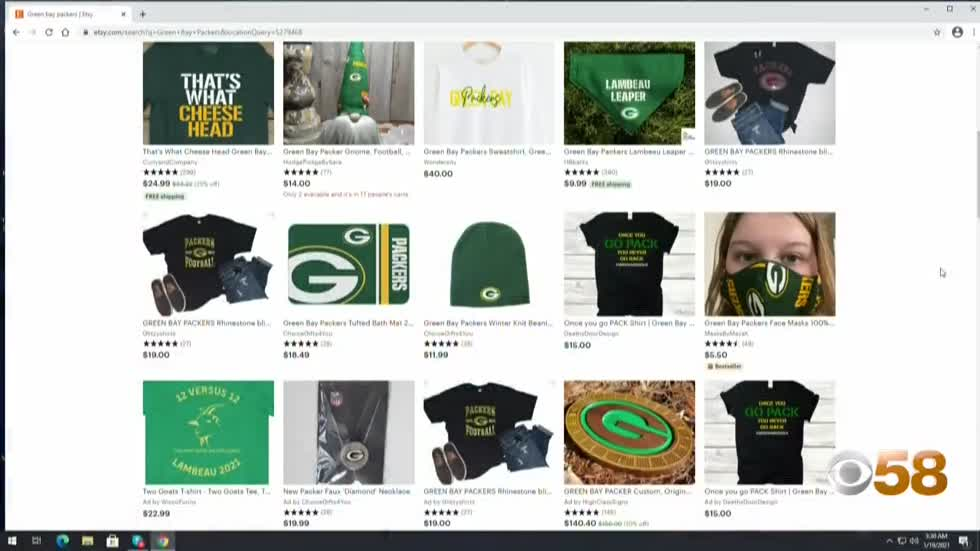 Rise of the 'Packers Crafters': Homemade football themed...